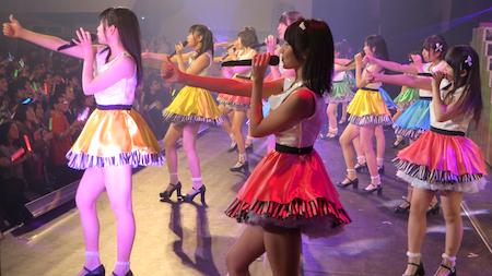 HKT48九州7県ツアー~可愛い子には旅をさせよ~ 佐賀市民会館「AKB48グループメドレー!」